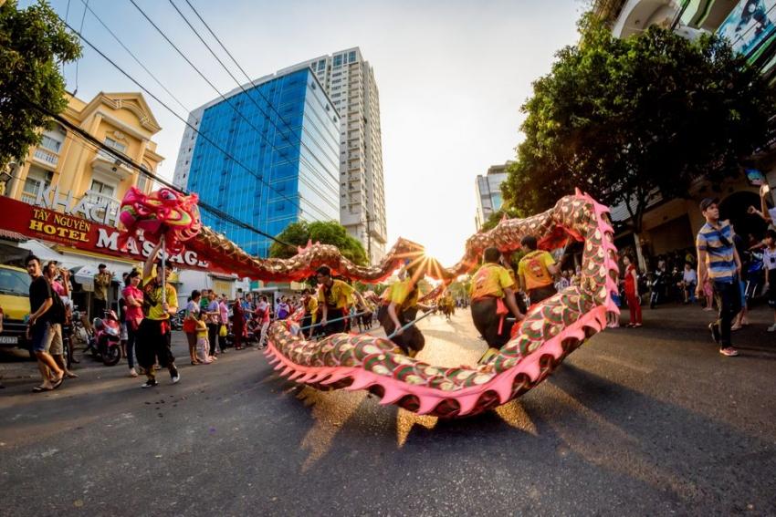 Festive holiday in Vietnam
